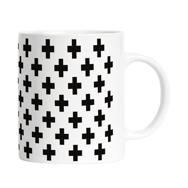 Kubek Black Shake Black Cross, 330ml