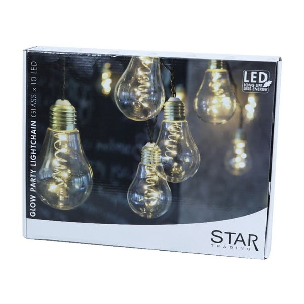 Girlanda świetlna LED Best Season Bulbs, 10 lampek