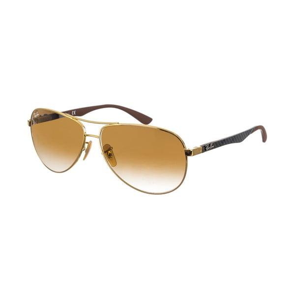 Okulary przeciwsłoneczne, męskie Ray-Ban 8313 Golden 61 mm