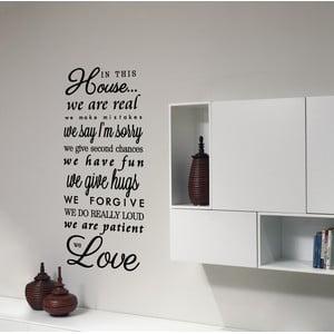 Naklejka dekoracyjna We Love