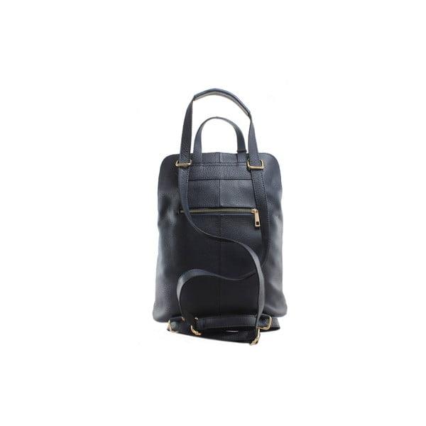 Skórzany plecaczek Cortese, niebieski