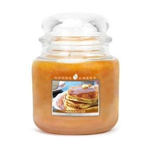 Świeczka zapachowa w szklanym pojemniku Goose Creek Masło klonowe, 0,45 kg