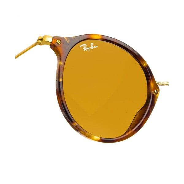 Okulary przeciwsłoneczne Ray-Ban Round Flex Havana