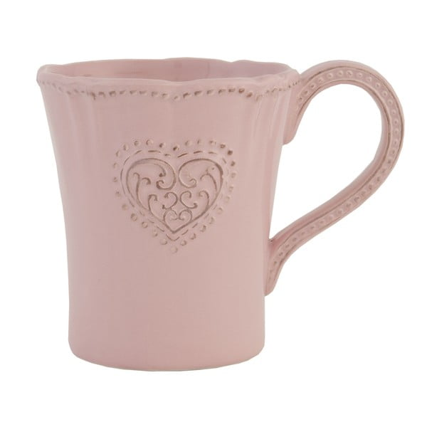 Ceramiczny kubek Clayre Roses, 300 ml