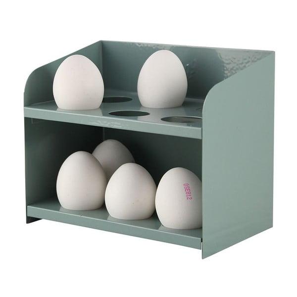 Stojak na jajka, szarozielony