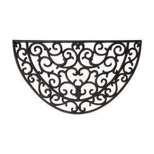 Gumowa półokrągła wycieraczka Esschert Design Ornamental