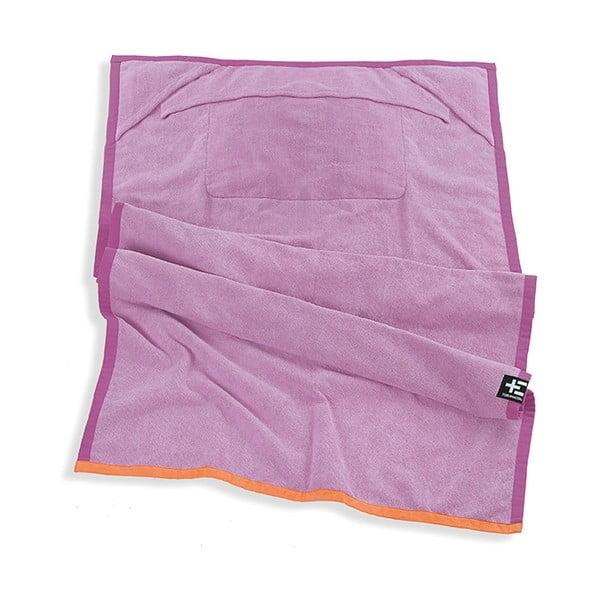 Ręcznik plażowy One Moe Violet, 90x180 cm