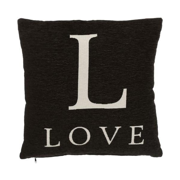 Poduszka Premier Housewares Love Black, 45x45cm