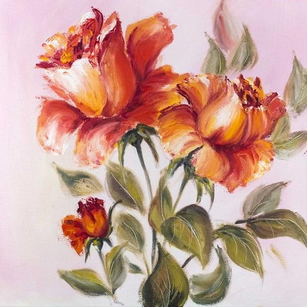 Obraz Romantyczna róża, 60x60 cm