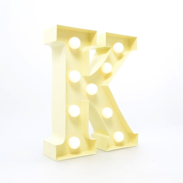 Światło dekoracyjne Carnival K, waniliowe
