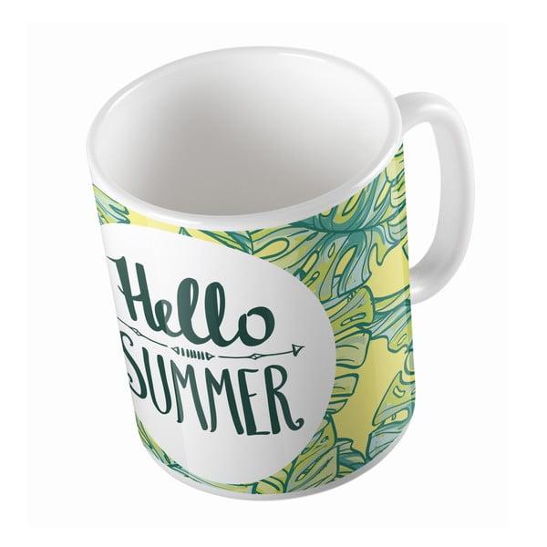 Kubek ceramiczny Hello Summer, 330 ml