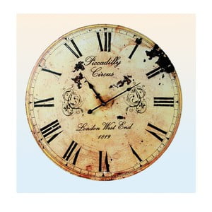 Zegar ścienny Piccadily Circus