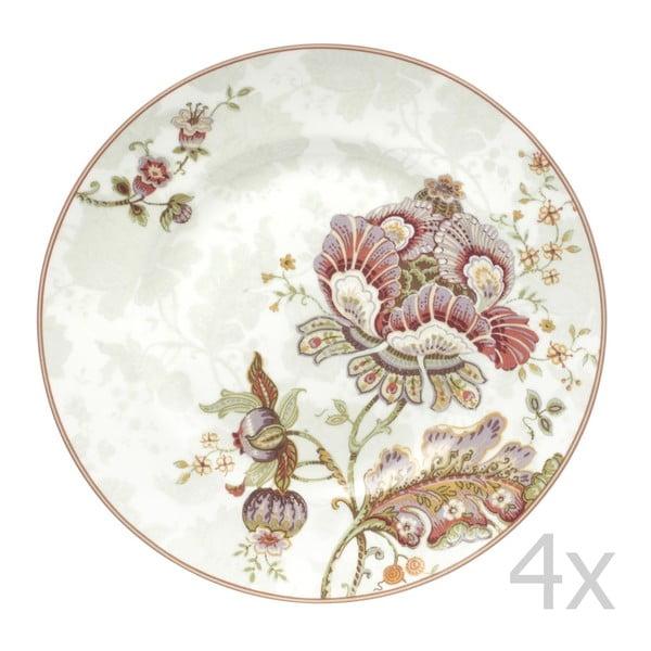 Zestaw 4 talerzy Elisabeth, 22,5 cm