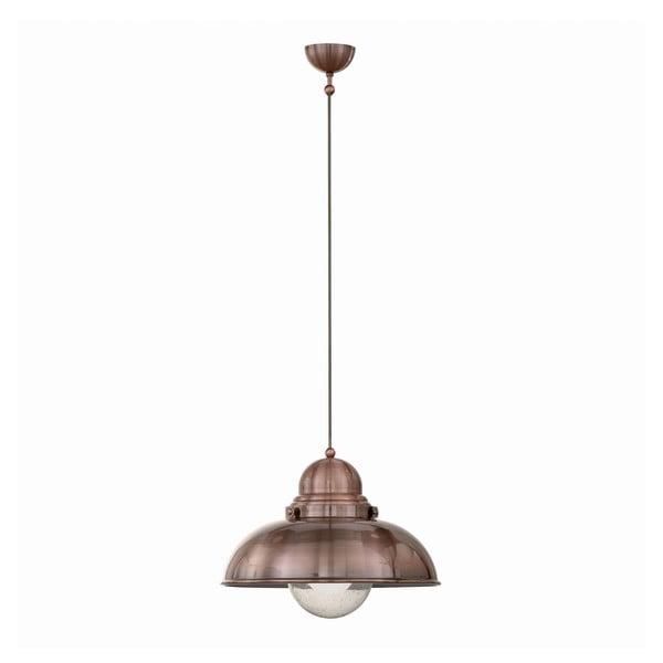 Lampa wisząca Crido Loft Copper, 43 cm
