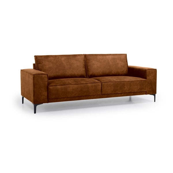 Brązowa sofa 3-osobowa Softnord Copenhagen