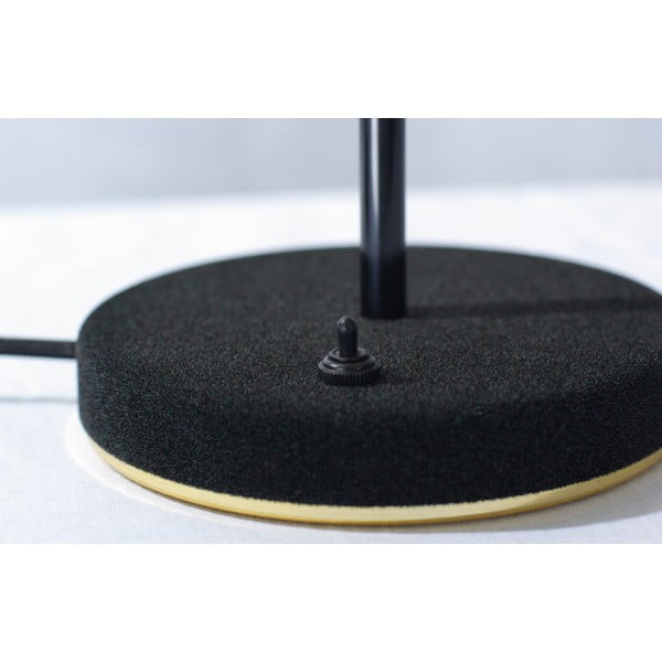 Lampa stołowa Mob Velvet, czarna