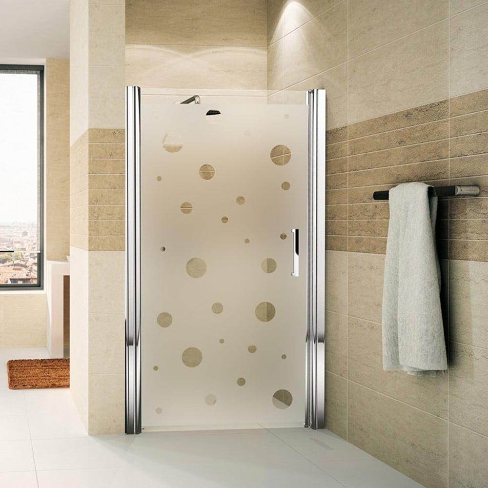 Naklejka Na Drzwi Prysznicowe Ambiance Bubbles Bonami