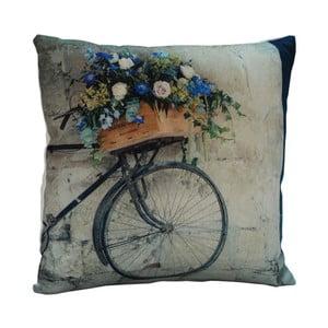 Poduszka Flower Bicycle, 45x45 cm