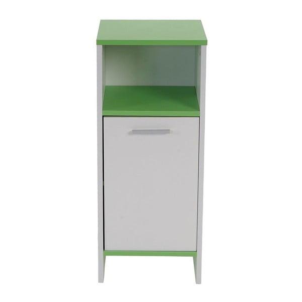 Szafka łazienkowa Sonoma White/Green, 28x32x82 cm