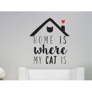 Naklejka dekoracyjna Cat Is