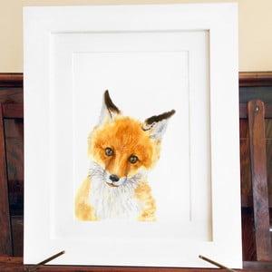 Plakat Wee Fox A4