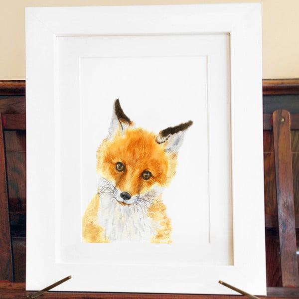 Plakat Wee Fox A3
