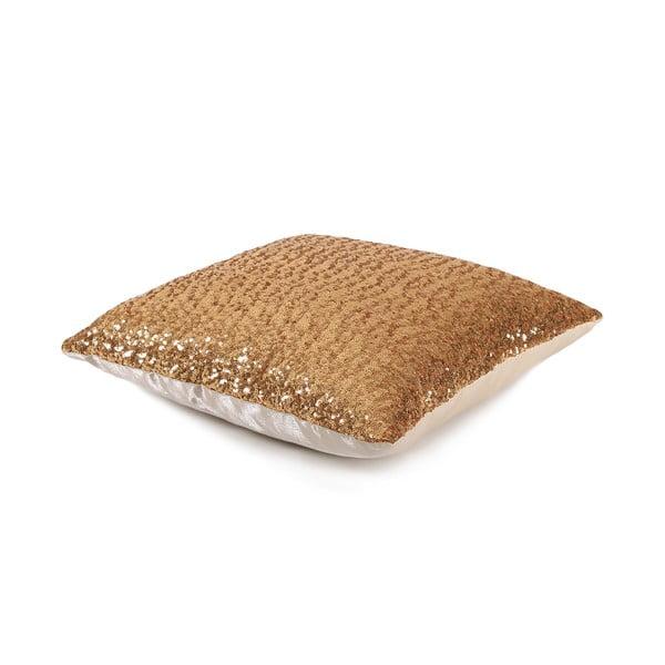 Poduszka z cekinkami Shiny Gold, 33x57 cm