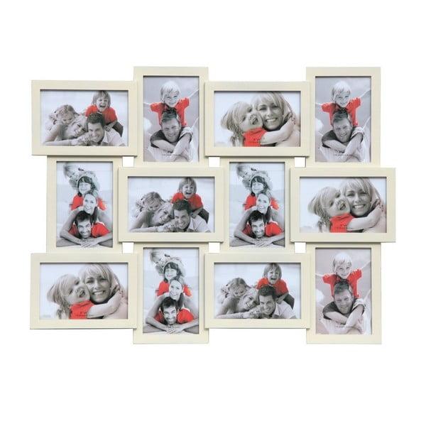 Połączone ramki na 12 zdjęć Photo, kremowe