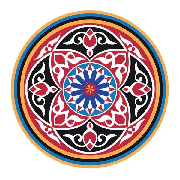 Naklejki Colorful Mandala, 4 szt