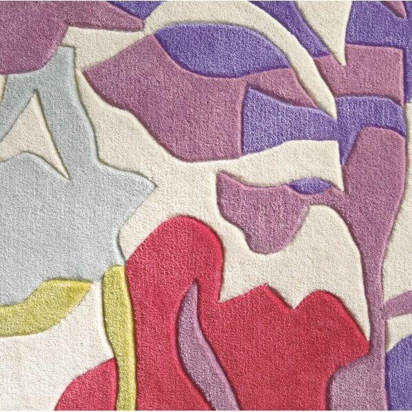 Ręcznie tkany dywan Spirit Flower, 140x200 cm
