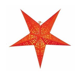 Gwiazda dekoracyjna Five Orange, 60 cm