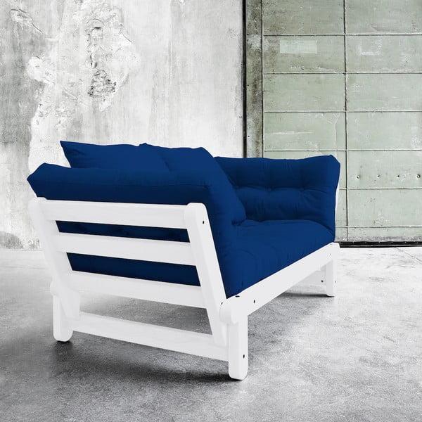 Sofa rozkładana Karup Beat White/Royal