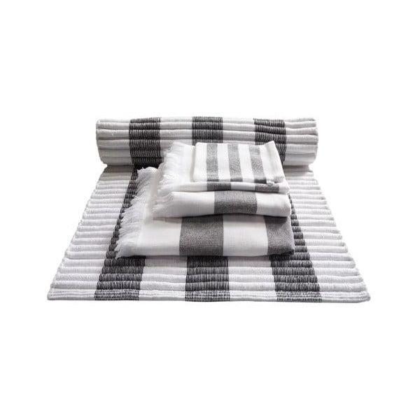 Ręcznik Jolie Black, 50x100 cm