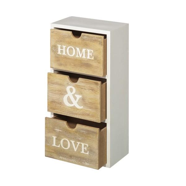 Szkatułka z przegródkami Home&Love, wys. 34 cm