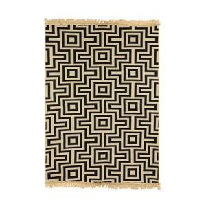 Granatowy dywan Ya Rugs Kare, 80x150cm
