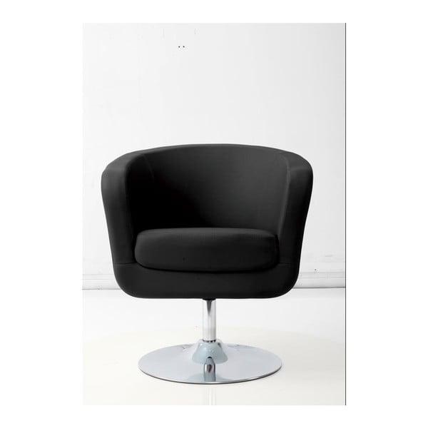 Fotel D2 Magnum, czarno-białe