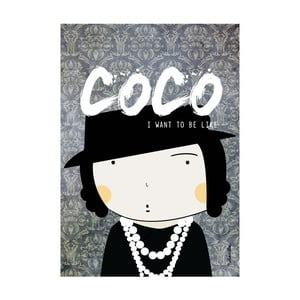 Plakat I want to be like Coco