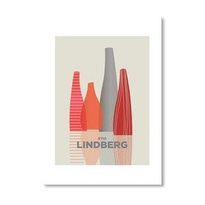 """Plakat autorski """"Stig Lindberg"""""""