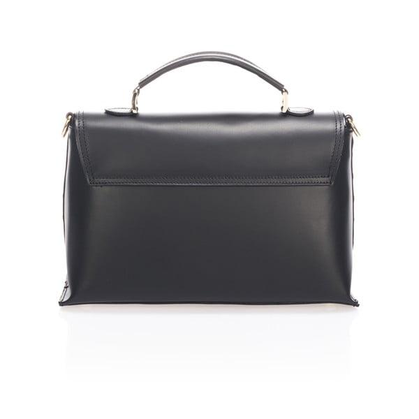 Skórzana torebka Harika, czarna