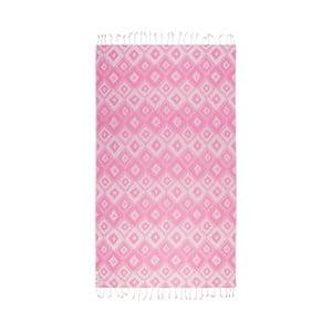 Ręcznik hammam Joy, różowy