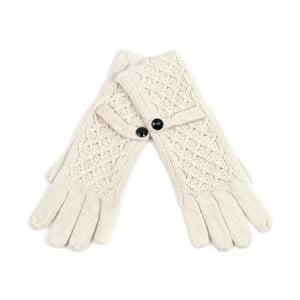 Rękawiczki Glamour White