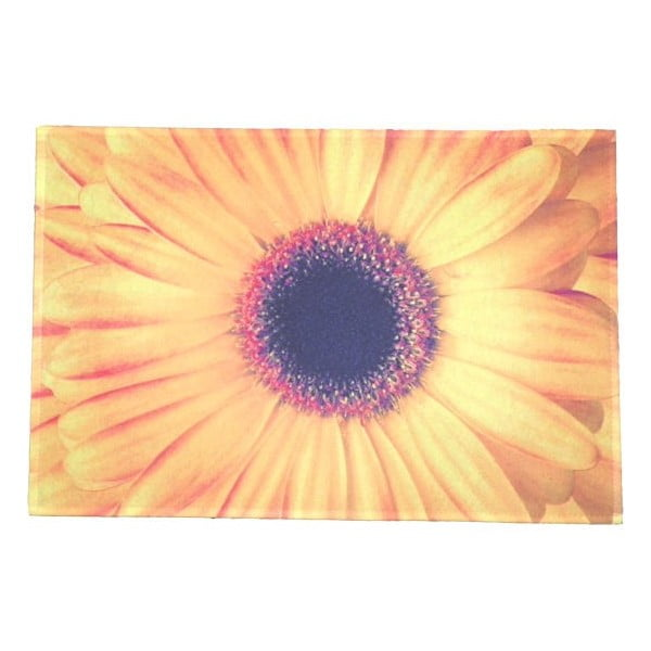 Dywanik Flower Yellow 75x50 cm