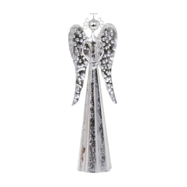 Dekoracja Archipelago Small Silver Angel, 30 cm