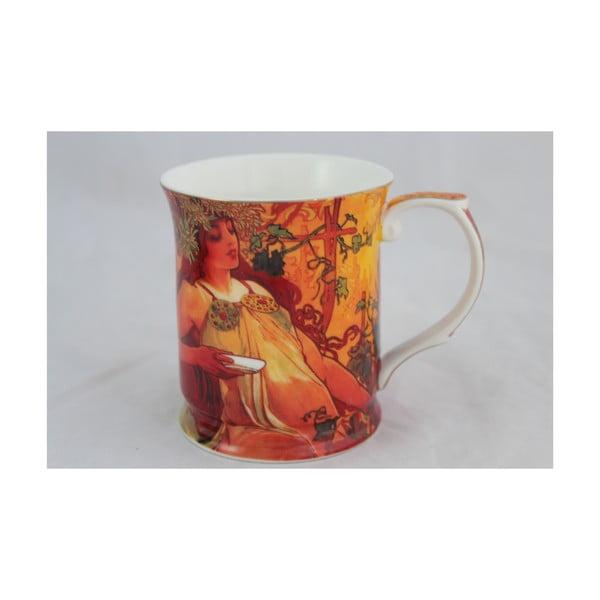 """Alfons Mucha - kubek """"Jesień"""", 0,4 l"""