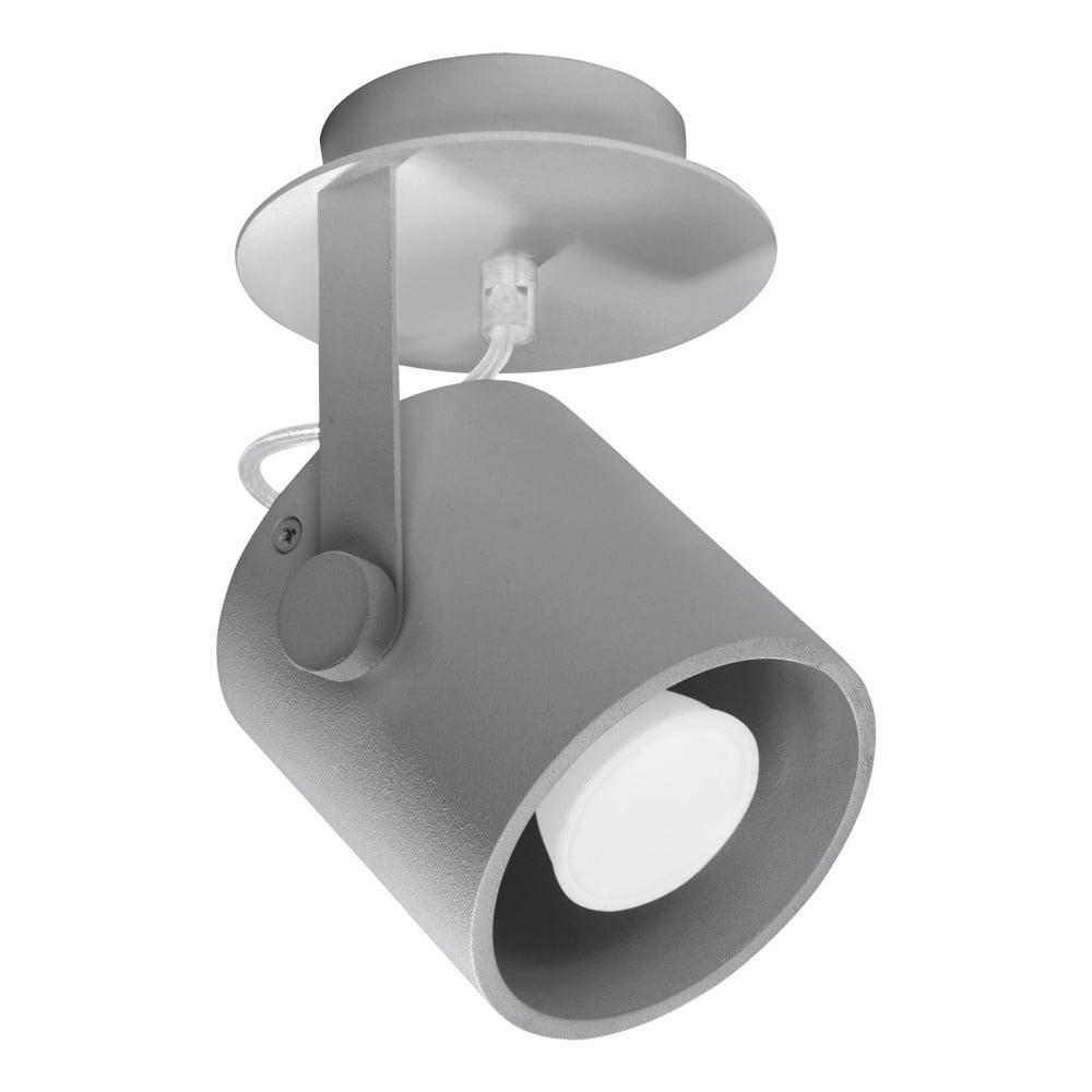 Szara lampa sufitowa Nice Lamps Lea 1