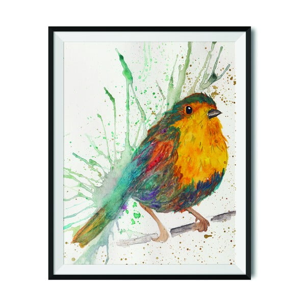 Plakat Wraptious Splatter Bird