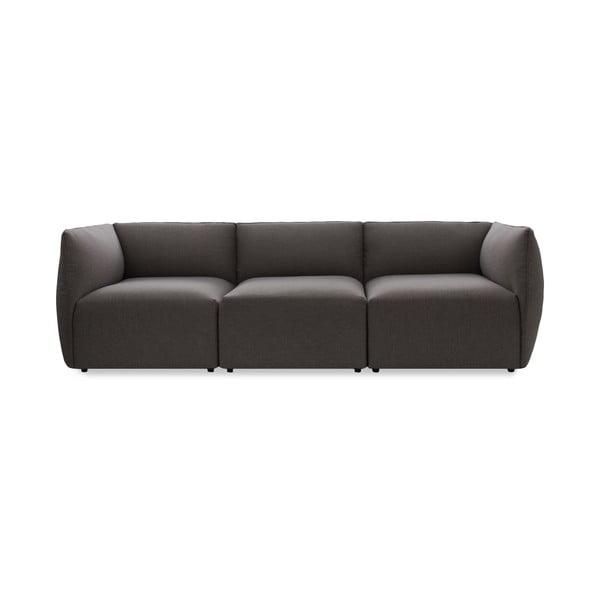 Sofa trzyosobowa VIVONITA Cube Dark Grey