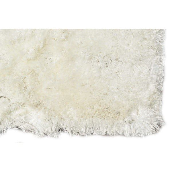 Biały dywan tuftowany ręcznie Bakero Feeling Snow, 130x190 cm