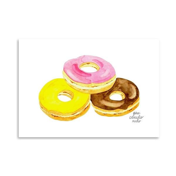 Autorski plakat Doughnuts, 30x42 m