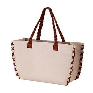 Filcowa torba, beżowa